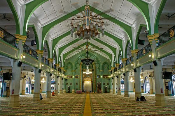 蘇丹回教堂內部