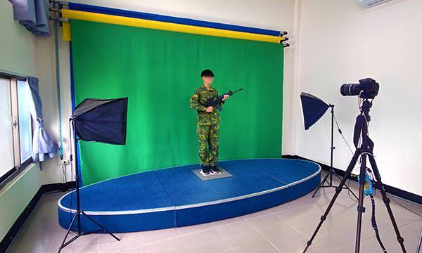 后麟射擊靶場攝影棚