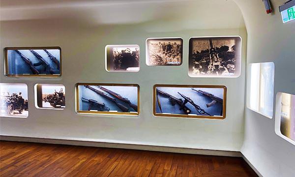 湖井頭戰史館迴廊