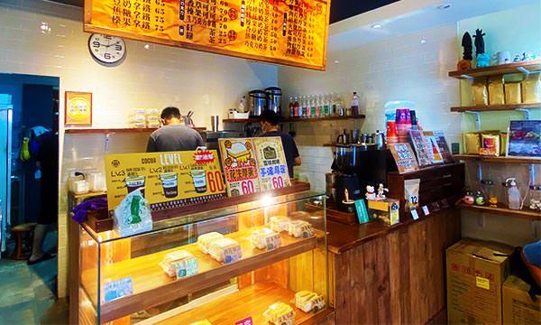 雪球咖啡 櫃台