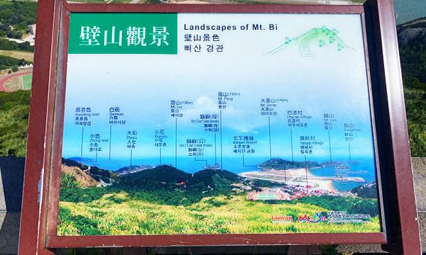 壁山觀景台 景觀導覽