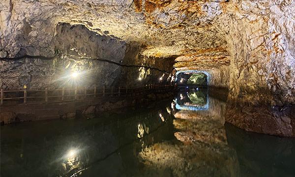 北海坑道 內部水道