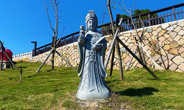 祈福坑道的馬祖神像