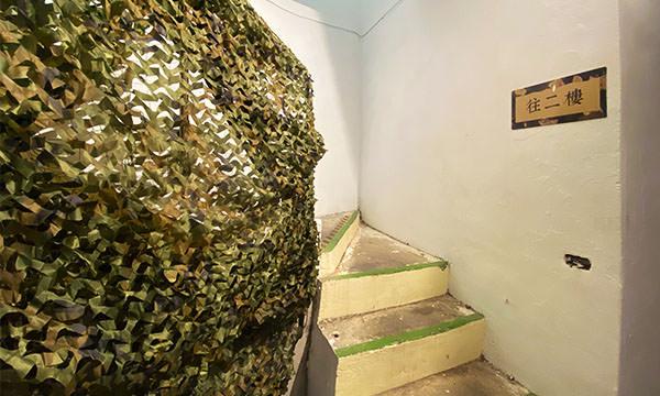 勝利堡二樓的樓梯