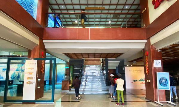 馬祖民俗文物館一樓大廳
