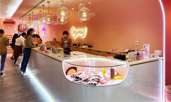 Qmomo南西店 櫃台