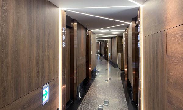凱悅KTV包廂走廊
