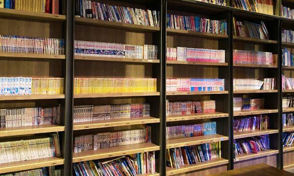 捷絲旅 圖書館的書籍種類