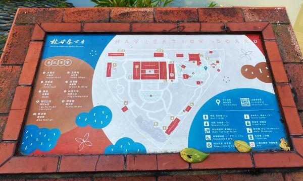 林安泰古厝 導覽地圖