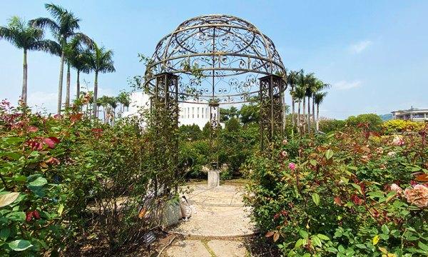 台北玫瑰園 裝置藝術