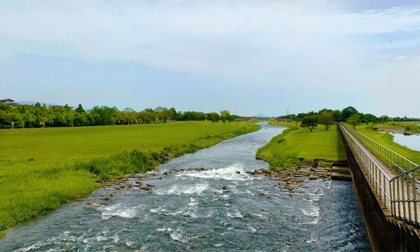 水量豐沛的安農溪
