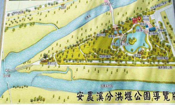 安農溪 分洪堰風景區