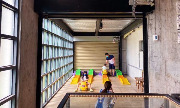 計程車博物館 軌道滑車