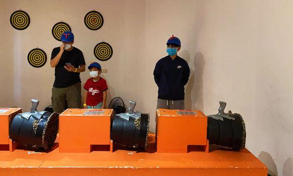 邱比準射擊博物館 射空氣砲