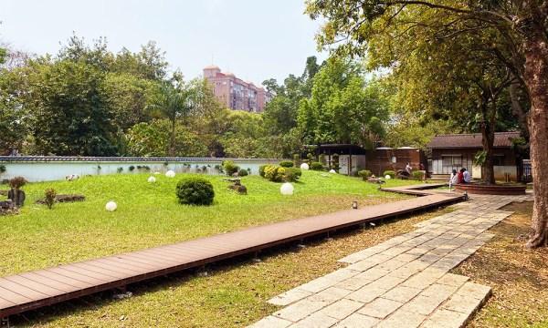 嘉義公園 昭和J18日式庭園