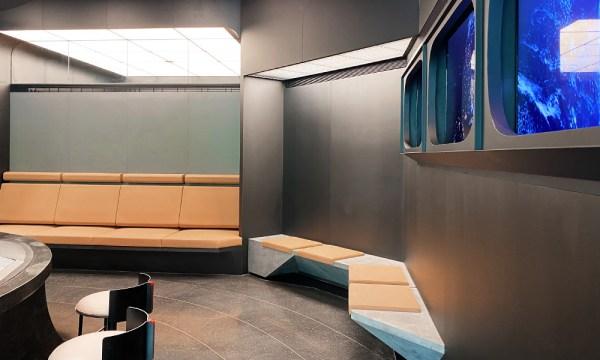星宇航空形象門市座椅