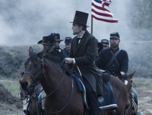 "Daniel Day-Lewis as president Abraham Lincoln in ""Lincoln."" - 2012 Walt Disney Pictures"