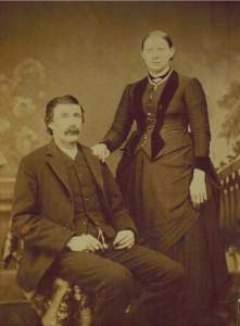 My grandparents, c 1890