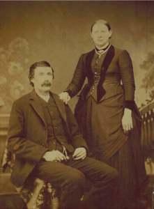My grandparents, c 1890