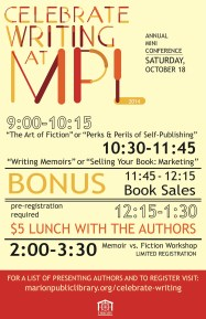 Celebrate Writing Poster