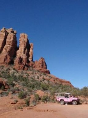 Pink Jeep Tours get two thumbs up.