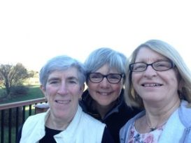 Friends & writers - Mary, Shirley & Carol