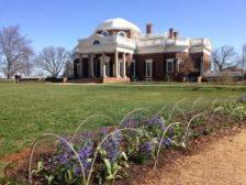 Monticello in spring