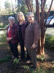 Making avatars into real people. Mary, Carol & Joan.