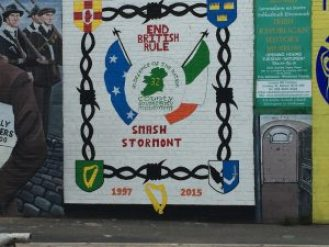 The fight for a united Ireland continues.