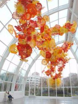 Chihuly Garden & Glass, Seattle, Washington.