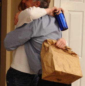 A to-go bag makes that hug last longer.