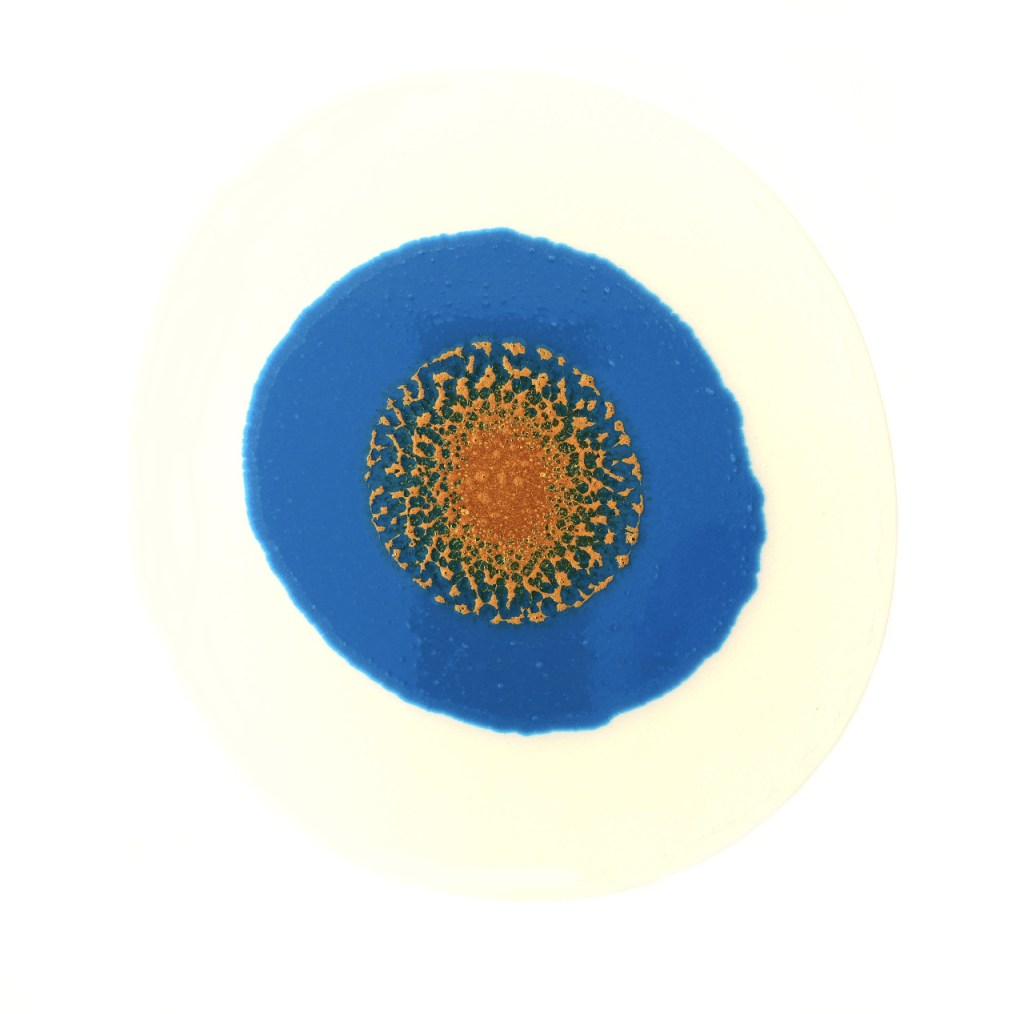 Deep Blue Coral Threads image