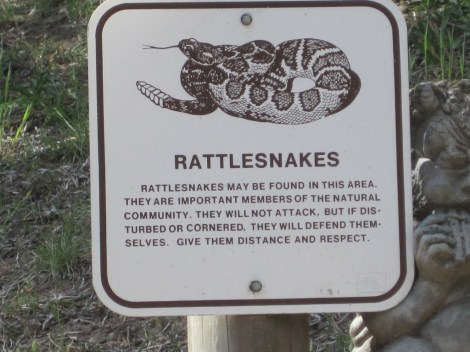 rattler sign