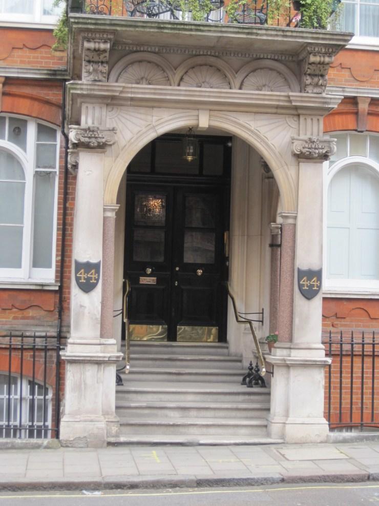 mayfair doorway