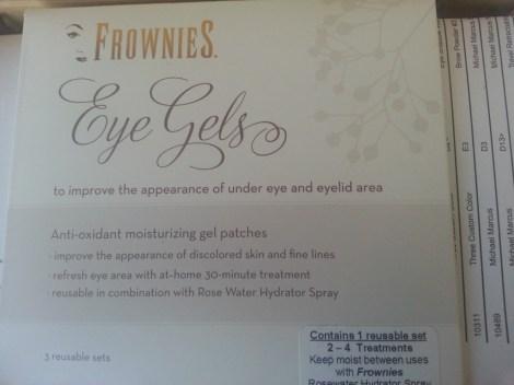 frownies eye gels info