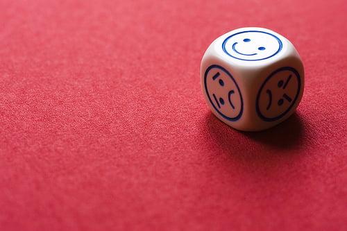 Roll dice happyday