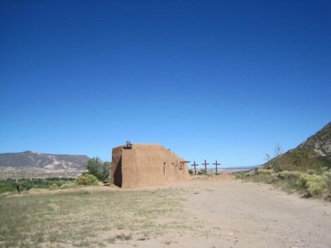Morada outside Santa Fe, NM