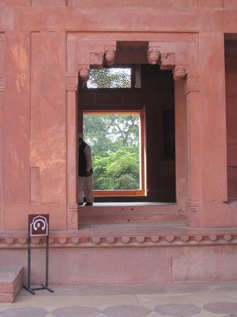 Fatehpur Sikri sandstone palace
