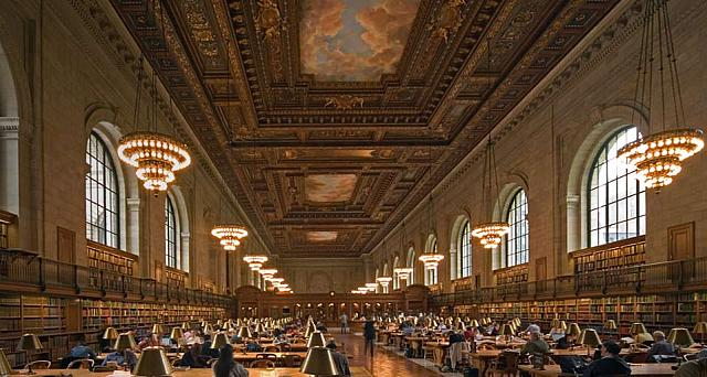 Reading Room, New York Public Library