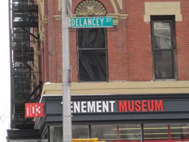 Delancy Tenement