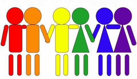 All different sexual orientations