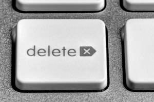 Author John McPhee on the delete key