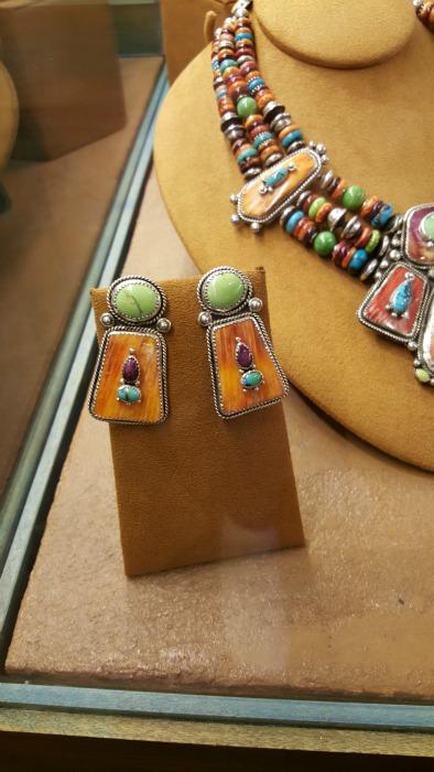 my SF earrings