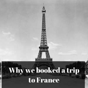 """Why """"Je vais en France"""""""