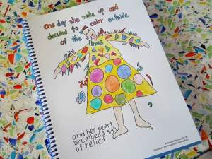 Why you want this inspirational coloring book