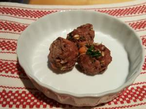 Mutt meatballs recipe