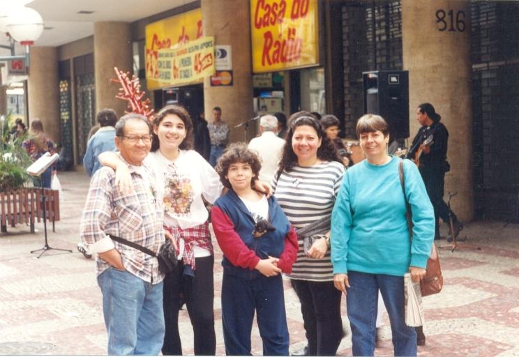 Passeio com a familia em Juiz de Fora - 1998