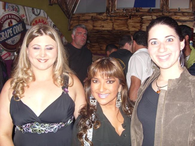 Marcela, Yumi e Carol - Inauguração Bar Papo Furado