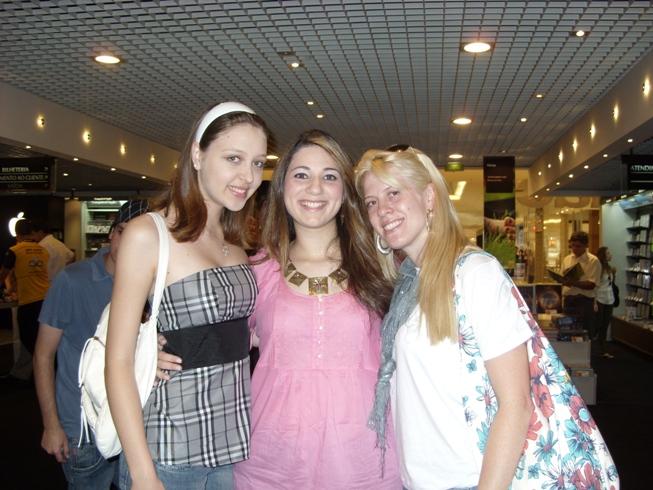 Bruna, Carol e Dani