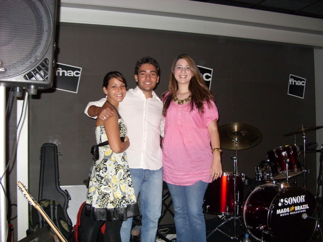 Caroline, Rafael e Carol